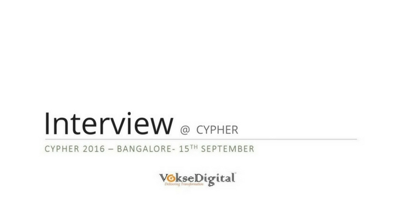 Interview @ Cypher