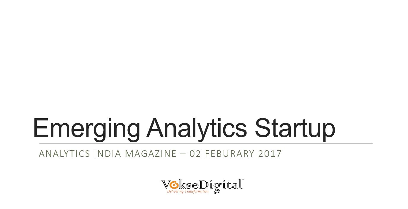 10 Emerging Analytics Startups in India to watch for in 2017