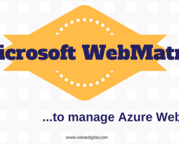 Microsoft WebMatrix – to manage Azure Web App